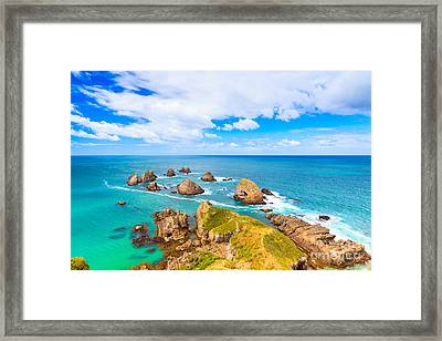 Seascape Framed Print by MotHaiBaPhoto Prints