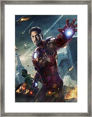 The Avengers 2012 Framed Print