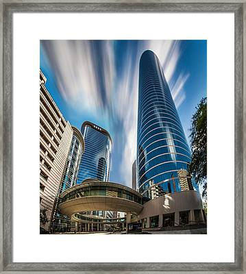 1400 Smith Street Houston Texas Framed Print by Micah Goff