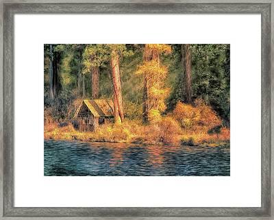Metolius Autumn Framed Print