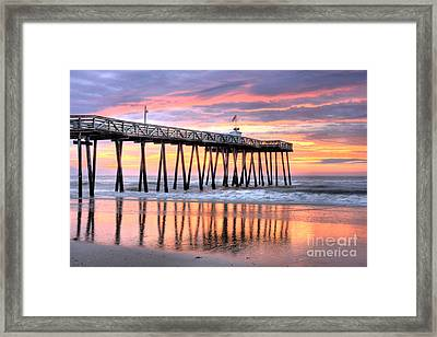 14th Street Pier Ocean City Nj Framed Print