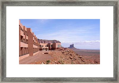 America - Monument Valley View Hotel Framed Print