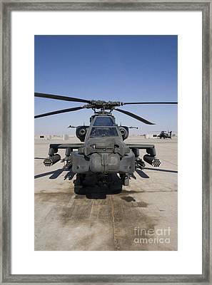 An Ah-64d Apache Longbow Block IIi Framed Print by Terry Moore