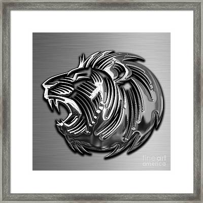 Lion Collection Framed Print by Marvin Blaine