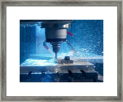 Metalwork Framed Print by Tek Image