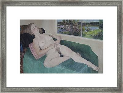 Nude Study Framed Print