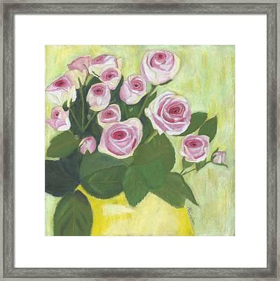 15 Pinks Framed Print