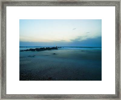 Framed Print featuring the photograph 15 Seconds by Meir Ezrachi