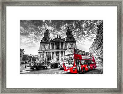 St Paul's Cathedral London Framed Print