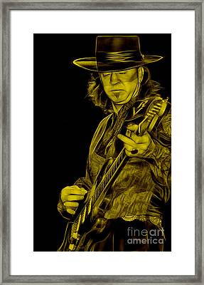Stevie Ray Vaughan Collection Framed Print