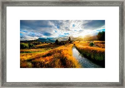 Wall Landscape Framed Print