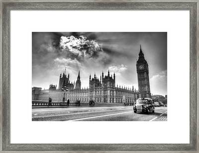 Westminster Bridge London Framed Print