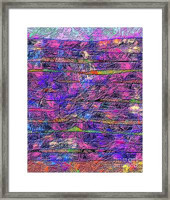 1531 Abstract Thought Framed Print