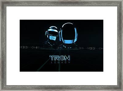 15548 Tron Legacy Framed Print