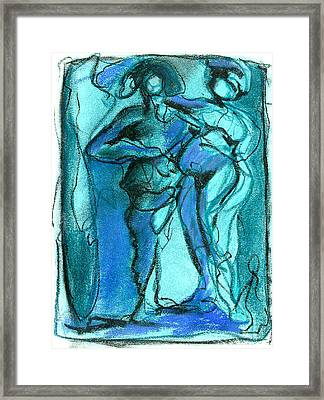 Framed Print featuring the pastel . by James Lanigan Thompson MFA
