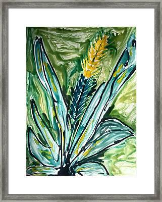 Divine Flowers Framed Print by Baljit Chadha