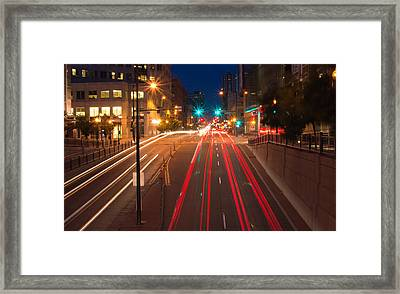 15th Street Framed Print
