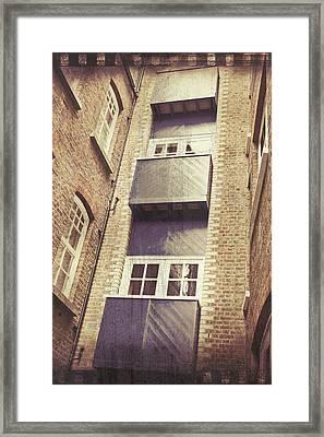 Balconies Framed Print
