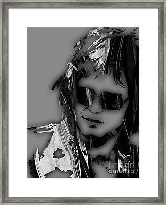 Elton John Collection Framed Print