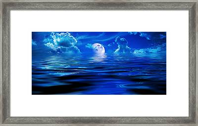 Heavens Waves - Sri Yantra Framed Print by Sir Josef - Social Critic -  Maha Art