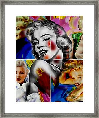 Marilyn Monroe Collection Framed Print