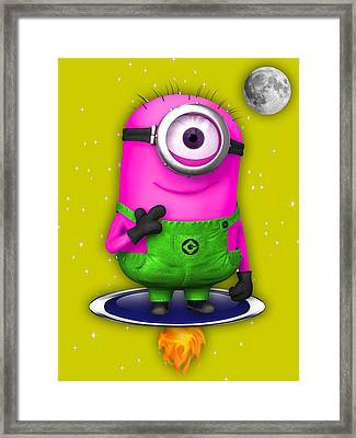 Minions Collection Framed Print