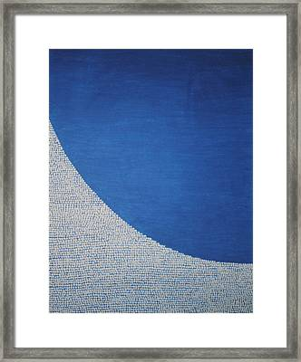 Perfect Existence Framed Print by Kyung Hee Hogg