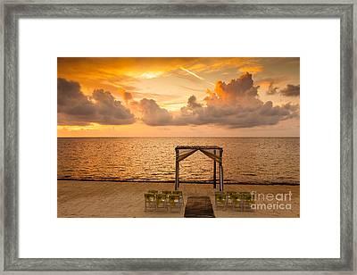 Riviera Maya Framed Print