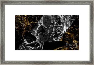 Spiderman Collection Framed Print by Marvin Blaine