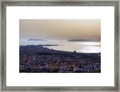 Trapani - Sicily Framed Print by Joana Kruse