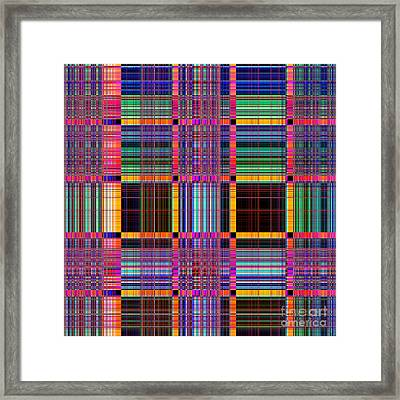 1672 Abstract Thought Framed Print