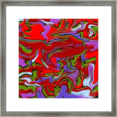1695 Abstract Thought Framed Print