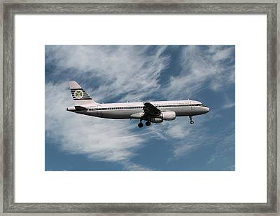 Aer Lingus Airbus A320-214 Framed Print