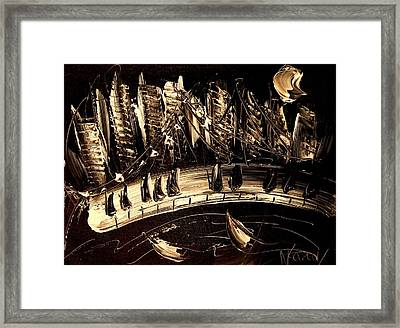 Jazz Framed Print by Mark Kazav