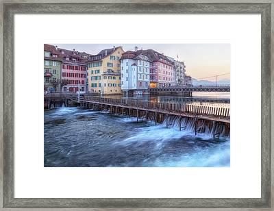 Lucerne - Switzerland Framed Print by Joana Kruse