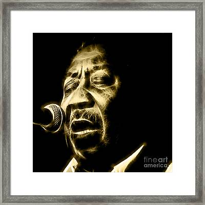 Muddy Waters Collection Framed Print