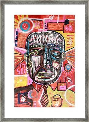 17 Seconds Of Fame Framed Print by Wall  Street