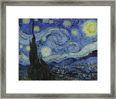 Starry Night  Framed Print by Vincent van Gogh