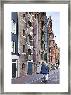 Streets Of Amsterdam Framed Print by Andre Goncalves