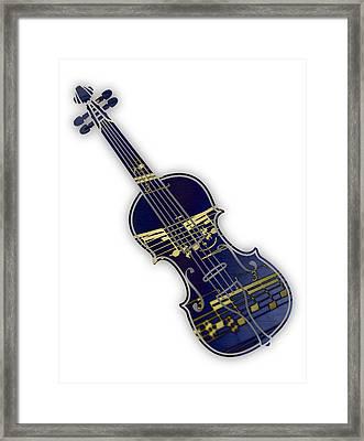 Violin Collection Framed Print