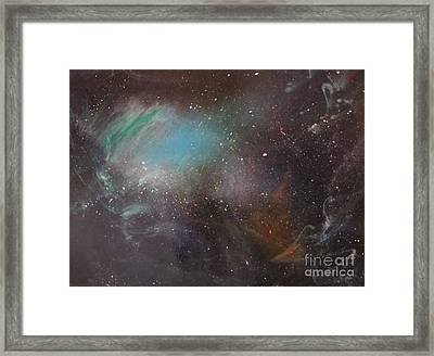 170,000 Light Years From Home Framed Print by Lorraine Centrella