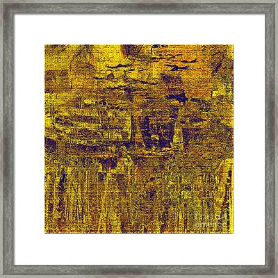 1748 Abstract Thought Framed Print