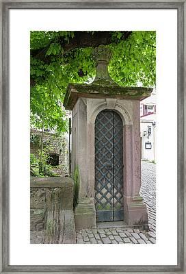 1752 Sentry Post Framed Print
