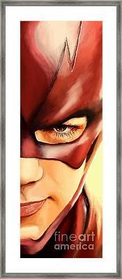 176. Barry. Framed Print by Tam Hazlewood
