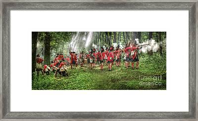 1763 Battle Of Bushy Run Pennsylvania Framed Print