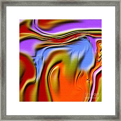 1765 Abstract Thought Framed Print