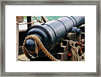 1776 Philadelphia II Canon Framed Print