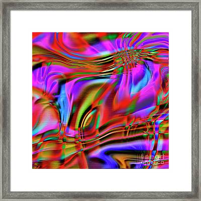 1783 Abstract Thought Framed Print