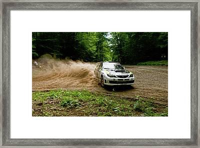 17874 Subaru Rally Impreza Wrx Sti Framed Print by F S