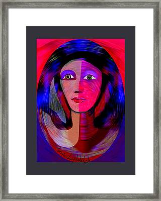 1790 - Once I Was A Slave In Old Egypt -  2017 Framed Print by Irmgard Schoendorf Welch